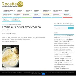 creme aux oeufs cookeo
