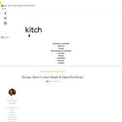 Slow Cooker Recipe: Savory Maple & Dijon Pot Roast Recipes from The Kitchn