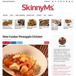 Slow Cooker Pineapple Chicken Recipe