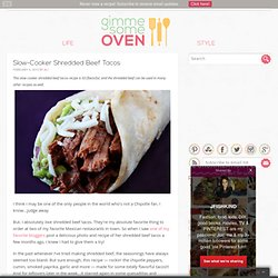 Slow-Cooker Shredded Beef Tacos Recipe
