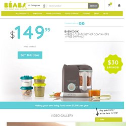 BÉABA USA: The Best Baby Food Cookers & All Natural Baby Food Making Products - BÉABA USA