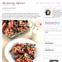 Cookie Chocolate Bark - Savoring Spoon — Savoring Spoon