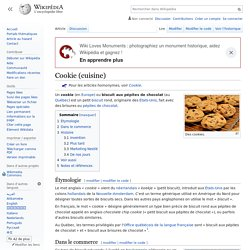 Cookie (cuisine)