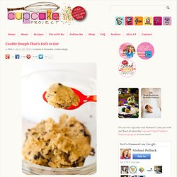 Cookie Dough That's Safe to Eat