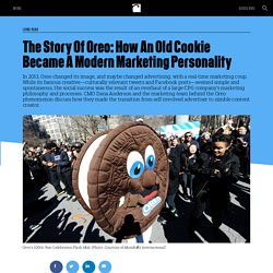 The Story Of Oreo: How An Old Cookie Became A Modern Marketing Personality