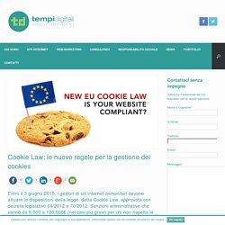 Cookie Law: le nuove regole per la gestione dei cookie