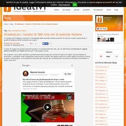 #CookieLaw: l'analisi di 500 mila siti di aziende italiane