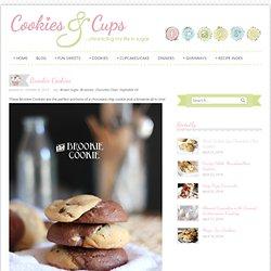 Cookies and Cups Brookie Cookies