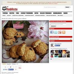 Cookies de avena y pasas sultanas