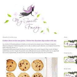 Cookies choco-avoine sans gluten