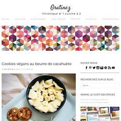Cookies végans au beurre de cacahuète - Gratinez