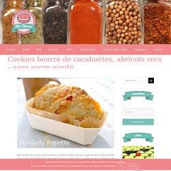 Cookies beurre de cacahuètes, abricots secs - sans sucre ajouté