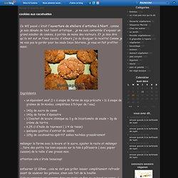 cookies aux cacahuètes - le chinois et la salamandre