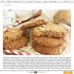 Cookies aux céréales, sans sucre ajouté