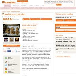 Cookies au chocolat : Recette de Cookies au chocolat