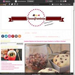 Cookies Pépites de Chocolat & Coeur Fondant à la Pâte à Tartiner