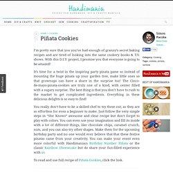 How to Make Piñata Cookies - Cooking