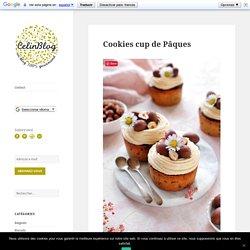 Cookies cup de Pâques
