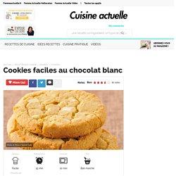 Cookie chocolat blanc