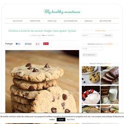 Cookies à la farine de sarrasin {Vegan, Sans gluten, Ig bas}