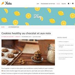 Cookies healthy au chocolat et aux noix