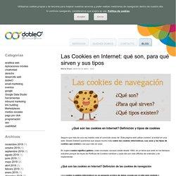 Las Cookies en Internet: Definición y tipos de cookies
