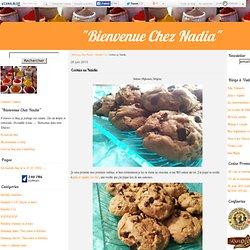 Cookies au Nutella - BIENVENUE CHEZ NADIA