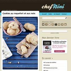 Cookies au roquefort et aux noix