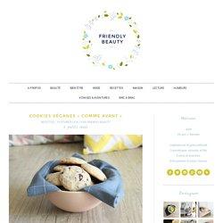 Cookies véganes «comme avant»