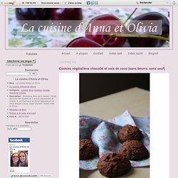 Cookies chocolat noix de coco 5*