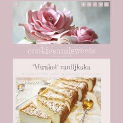 """Mirakel"""" vaniljkaka"""