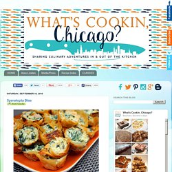What's Cookin, Chicago?: Spanakopita Bites