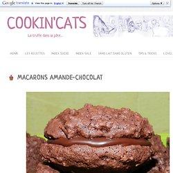 MACARONS AMANDE-CHOCOLAT