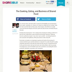 The Cooking, Eating, and Business of Shared Food