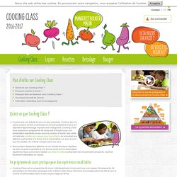 Cooking Class - Qu'est-ce que Cooking Class ?