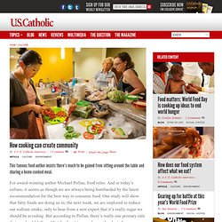 How cooking can create community