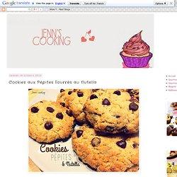 Cookies aux Pépites Fourrés au Nutella