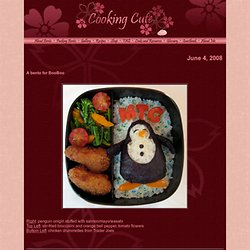 Cooking Cute: a bento site