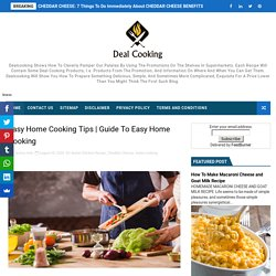 Guide To Easy Home Cooking - Delicious Dish All Over The World- Cooking Recipes At Deal Cooking