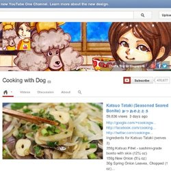 Chaîne de cookingwithdog - YouTube