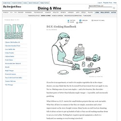 D.I.Y. Cooking Handbook - Interactive Feature