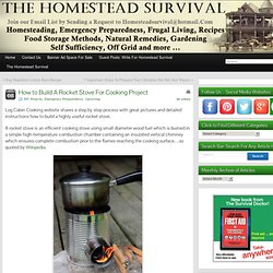 How to Build A Rocket Stove For Cooking Project