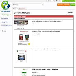 Cooking Manuals - energypedia.info