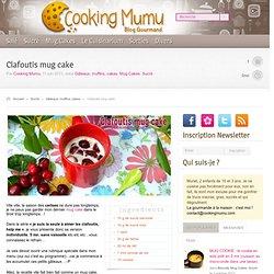 Cooking Mumu Clafoutis mug cake