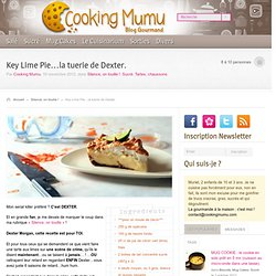 Cooking Mumu – Key Lime Pie…