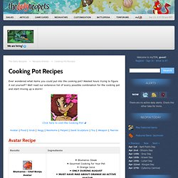 Cooking Pot Recipes