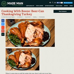 Cooking With Booze: Beer-Can Thanksgiving Turkey