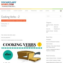Vocabulary Home