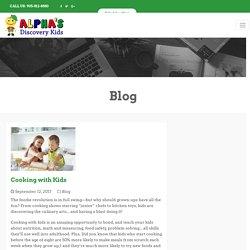 Cooking with Kids & Alpha's Preschool Academy