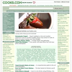 Cooks.com - Recipe Search and More